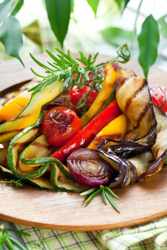 Roasted Fresh Vegetables