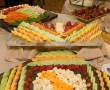Meat Cheese Vegetable Trays