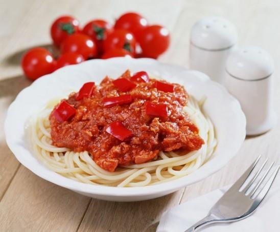 Marinara over Pasta