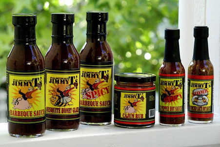Jimmy T's BBQ Sauces