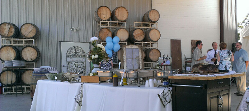 Winery Event Jimmy T S Catering Sacramento Roseville